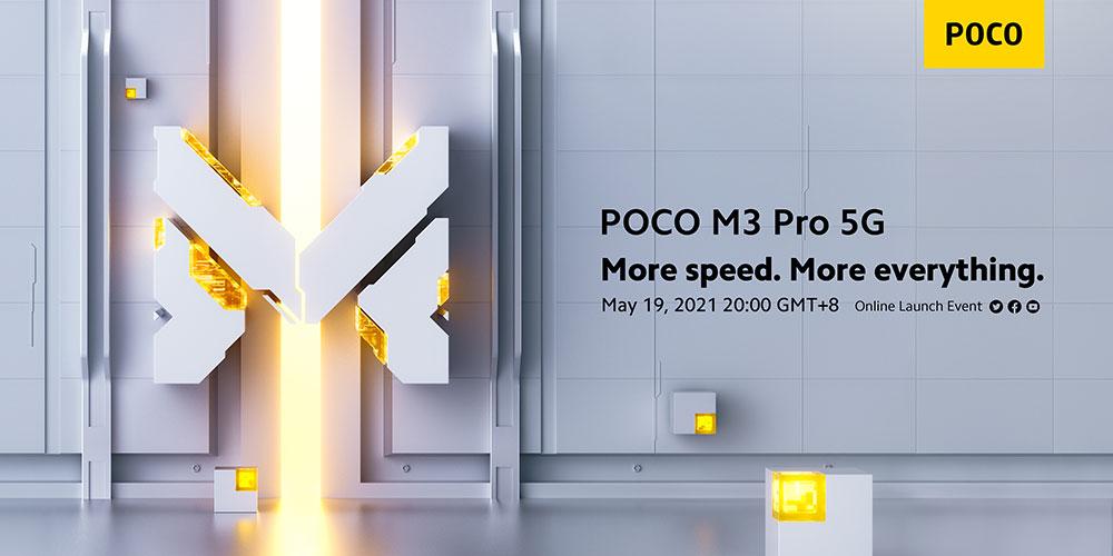 Xiaomi уже 19 мая представит 5G-смартфон Poco M3 Pro