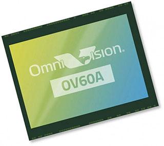 Представлен сенсор для камер смартфонов OmniVision OV60A