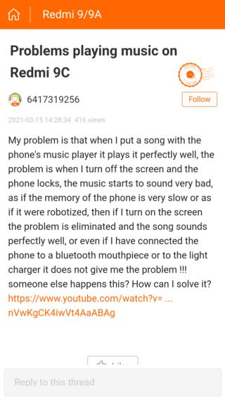 У Redmi 9 и Redmi 9C проявились проблемы со звуком