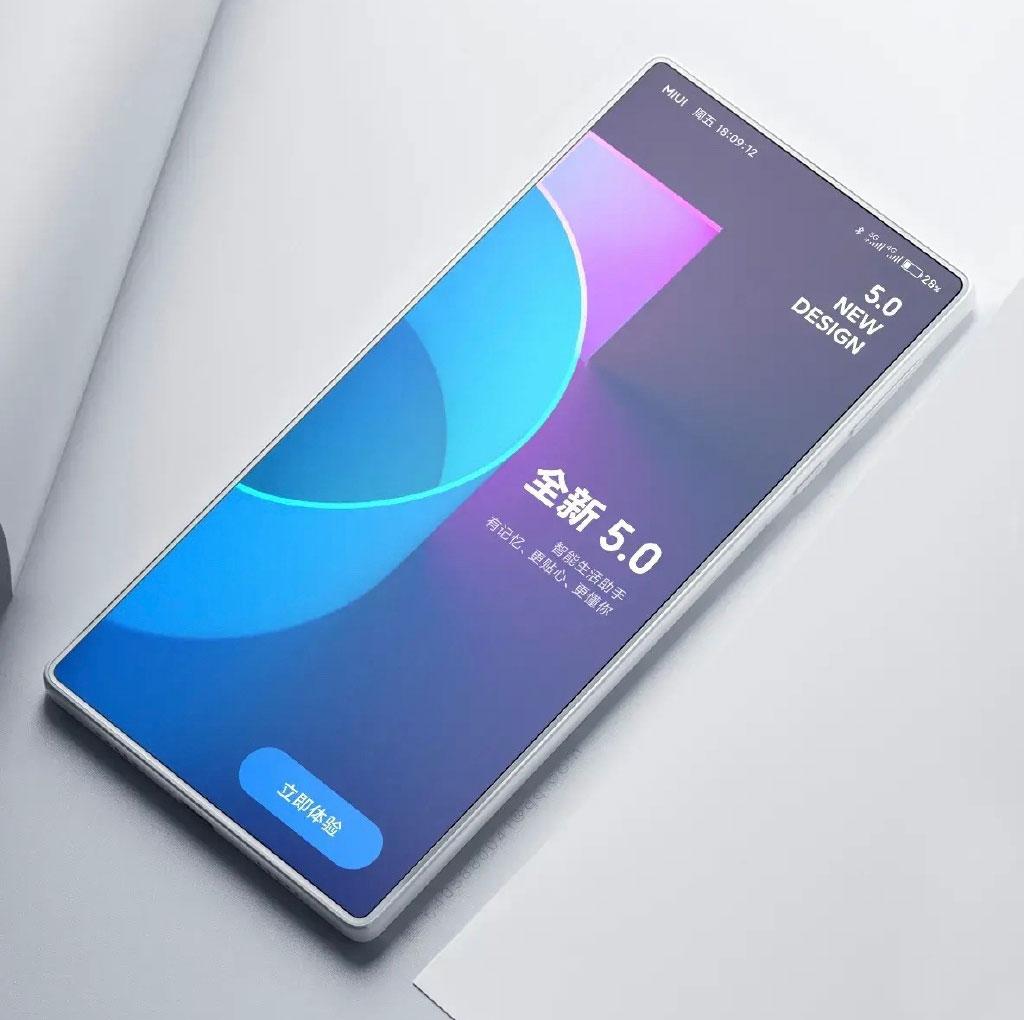 Неофициальный рендер Xiaomi Mi Mix 4