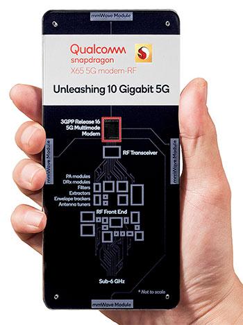 Анонс 5G-модема Qualcomm Snapdragon X65