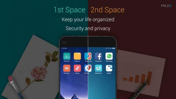 Что такое второе пространство на смартфонах Xiaomi?