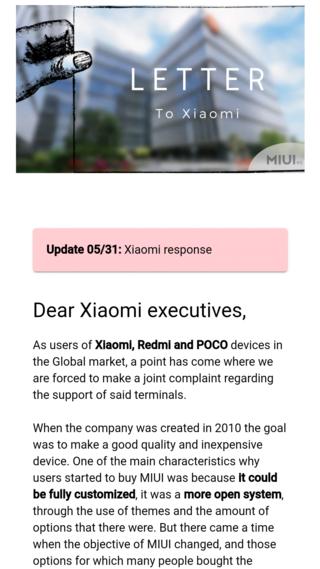 Xiaomi ответила на петицию об улучшении глобальной MIUI 12.5