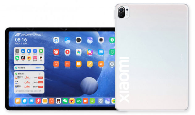 Неофициальный рендер Xiaomi Mi Pad 5