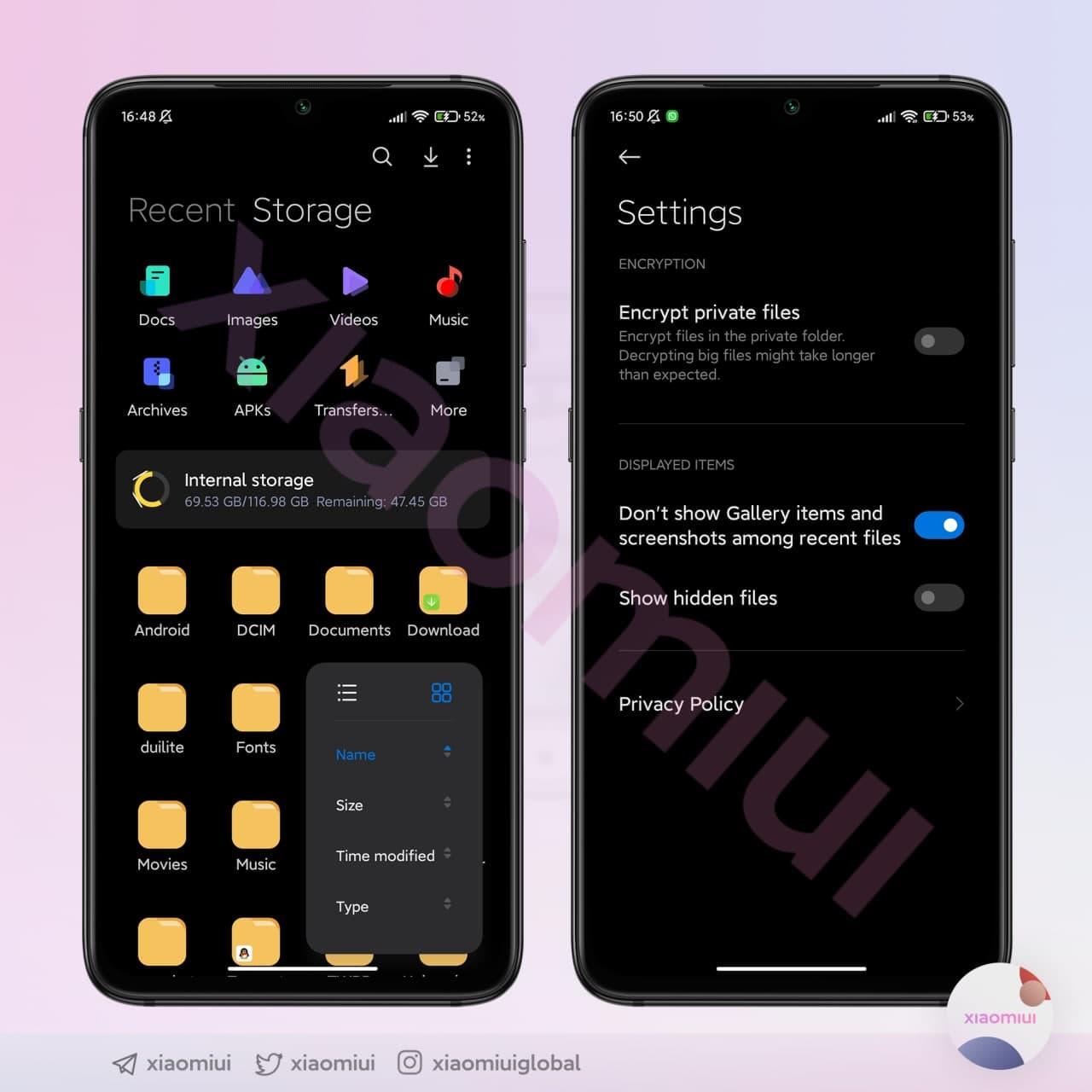 Разработчики Xiaomi активно тестируют оболочку MIUI 13