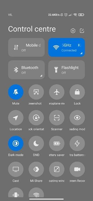 На Xiaomi и Poco появились проблемы с Центром управления