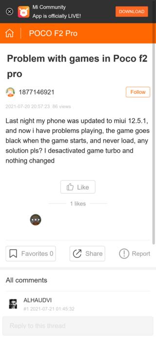 COD Mobile и PUBG Mobile виснут на прошивках MIUI 12.5