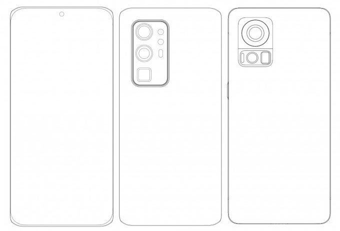 Осенние флагманы компании Xiaomi показали на схемах
