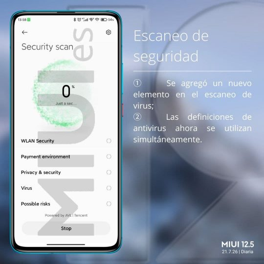 Xiaomi расширила определения антивируса в MIUI