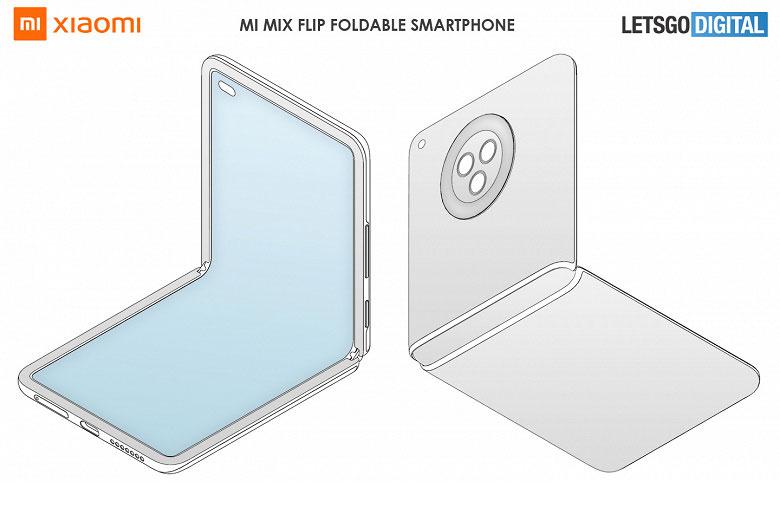 """Xiaomi готовит смартфон-""""раскладушку"""" - Xiaomi Mi Mix Flip?"""